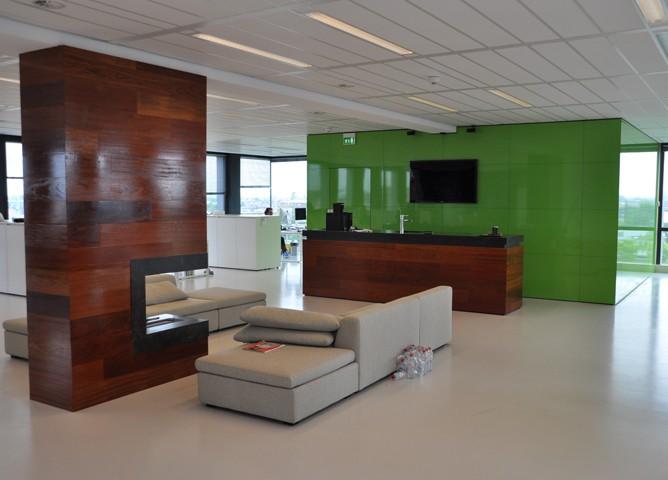 Aanpassingen kantoorruimte schokker en van marken for Kantoor interieur ideeen